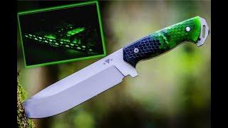 Video Making the NightForce Glow in the Dark Knife MP3, 3GP, MP4, WEBM, AVI, FLV Mei 2019