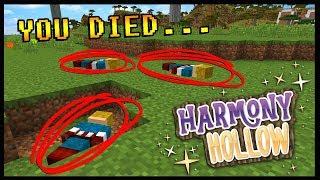 #1 MOST DEATHS ON THE SERVER ALREADY...   Minecraft Harmony Hollow S5   #3