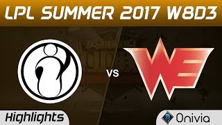 IG vs WE Highlights Game 1 LPL SUMMER 2017 Invictus Gaming vs Team WE by Onivia Make money with your LoL knowledge...