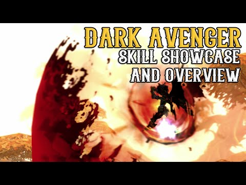 Dragon Nest – Dark Avenger Skill Showcase, Gameplay, Overview & Insights ~ ! [1080P/60FPS]