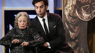 SACHA BARON COHEN Kills Award Presenter at the 2013 Britannia Awards - BBC AMERICA