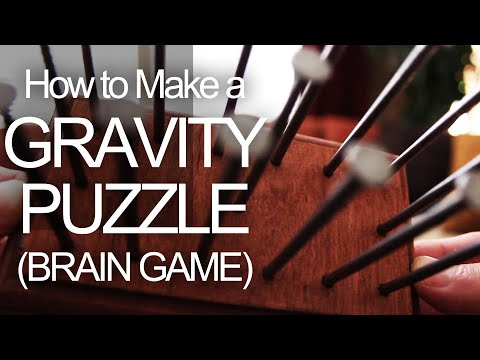 make - This little brain game is all about engineering a lower center of gravity. The idea has been around forever, but most people still can't do it. The challenge...