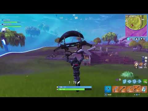 Fortnite Sniper Montage/ 284m Snipe!