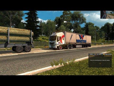 Walton hd truck skin mods bd truck skin and 3d trailer v1.0