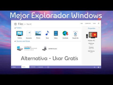Mejor alternativa al Explorador de Windows - Usar Gratis