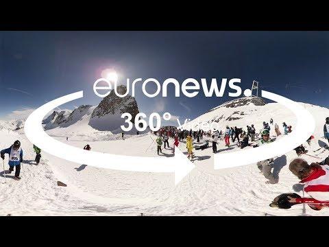Offpiste-Paradies: Zwischen schneebedeckten Gipfeln i ...