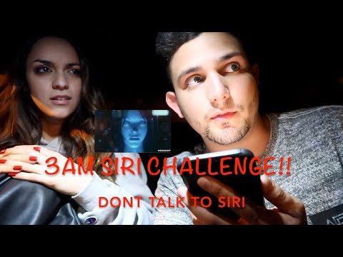 3am Siri Challenge!! Dont Talk To Siri At 3am (she Showed Herself!)