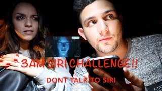 Video 3AM SIRI CHALLENGE!! DONT TALK TO SIRI AT 3AM (SHE SHOWED HERSELF!) MP3, 3GP, MP4, WEBM, AVI, FLV Maret 2019