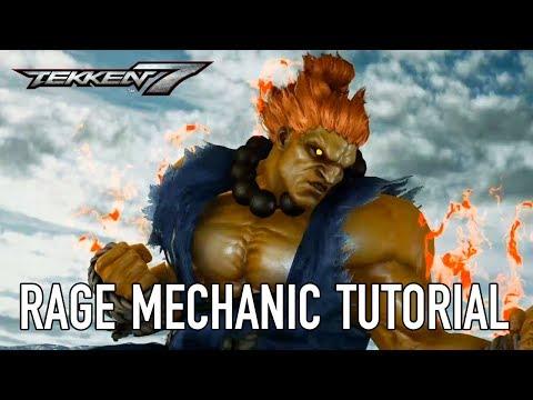 Tekken 7 – PS4/XB1/PC – Rage Art and Rage Drive (Tutorial Video)