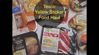 When is the best time to bag a Tesco reduced yellow sticker food haul.  Where and when can you find reduced food.