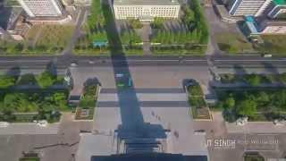 Rare Look Inside North Korea's Capital City