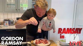 Gordon Ramsay Shows How To Make A Lamb Chop Dish At Home | Ramsay in 10 by Gordon Ramsay