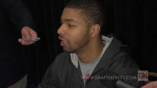 Marcus Morris Draft Combine Interview