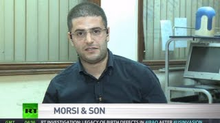 Morsi's son: US fails to defend democracy despite talk in media