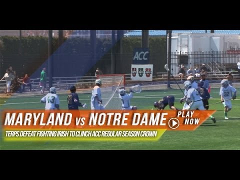 notre - https://www.lax.com/ - In their 2014 regular season ACC finale, the Notre Dame lacrosse team, the Fighting Irish hosted the seventh ranked Maryland Terps at Arlotta Stadium. Led by eight...