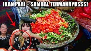 Video SAMBAL + IKAN PARI DISINI JUARA! *RAMAI PARAH* MP3, 3GP, MP4, WEBM, AVI, FLV April 2019