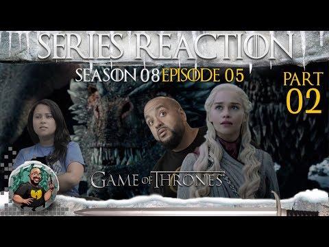 Game of Thrones: Season 8 - Episode 5 - The Bells REACTION (Part 2) 🔥❄️