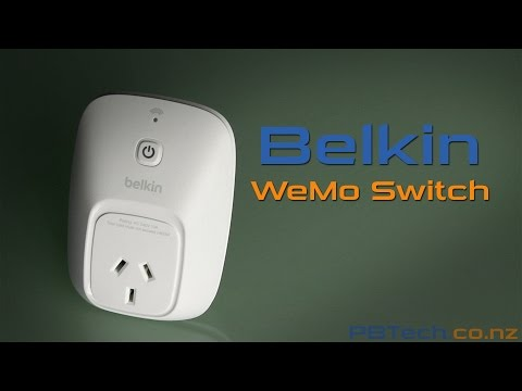 Belkin WeMo Switch - PB Tech Expert Review (F7C027AU)