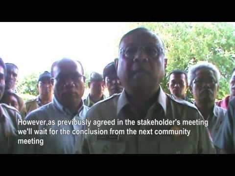 YAKKUM Emergency Unit - Interview dengan Syamsul Maarif (Kepala BNPB) di Rokatenda