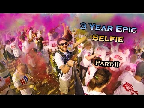 3 Year Epic Selfie – Around the World in 360° Degrees – Part II