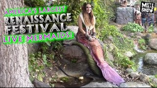 Shakopee (MN) United States  city photo : REAL LIVE MERMAIDS - America's Largest Renaissance Festival - Minnesota - Matt's Rad Show