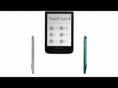 PocketBook - Touch Lux 4 - Celodenní čtení s radostí