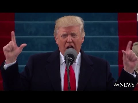 Trump Inauguration Speech (FULL) | ABC News (видео)