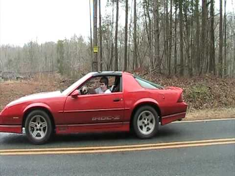 My 1988 Iroc-z Camaro Doing a burnout