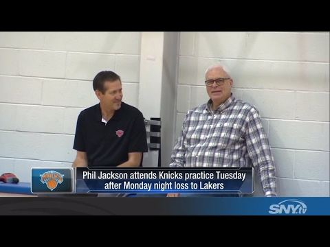 Video: Knicks coach Jeff Hornacek talks about Phil Jackson's role