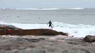 Surfing Fail - Washed Back Over Reef