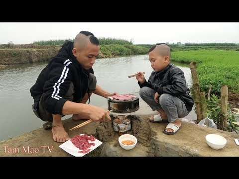 Lần Đầu Ăn Thử Thịt Bò Kobe - BÒ KOBE NƯỚNG ĐÁ - Khách Sạn 5 Sao Cũng Chịu Thua - Thời lượng: 28:04.