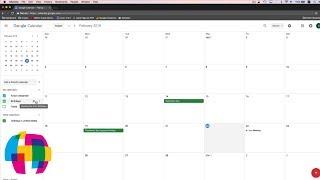 Google Calendar Tutorial 2018 - Quick Start