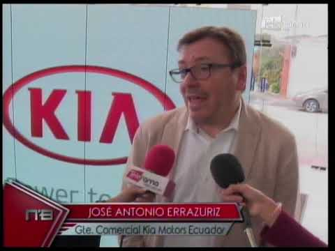 """Kia Motors y Cerveza 593 auspician a deportista Marlon """"Chito"""" Vera"""