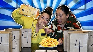 MYSTERY FRENCH FRIES CHALLENGE!!!