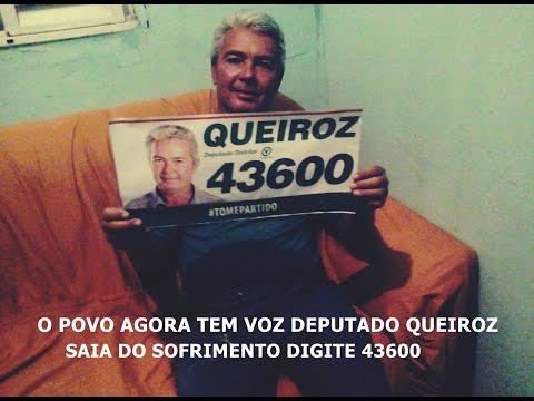 Candidato deputado distrital Queiroz é nois 43600