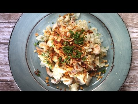 Vietnamese Salad: How to Make a Diakon Salad with Shrimp and Pork – Goi Cu Cai – Nom cu cai