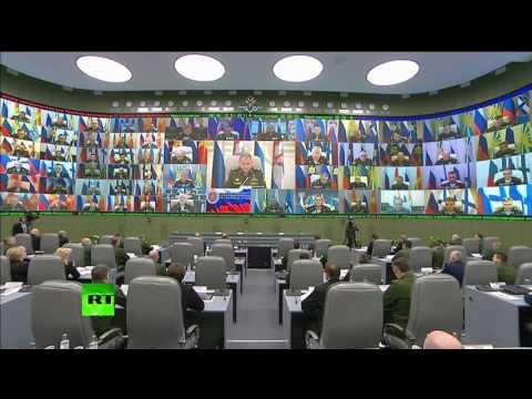 Шойгу: коалиция во главе с США сработала в Сирии не просто «по нулям», а в минус (видео)