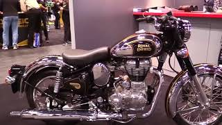 10. 2018 Royal Enfield Classic 500 Chrome Special Series Lookaround Le Moto Around The World