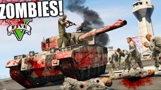 TANQUE DE ZOMBIES !! GTA ZOMBIE APOCALIPSE CAP 7 !! SERIE DE ZOMBIES GTA 5 MODS PC Makiman