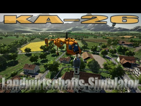 FS19 Flying Ka-26 v1.0 public beta