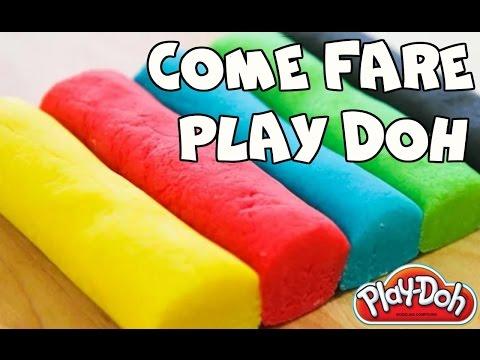 PLAYDOH FATTO IN CASA, giochi fai da te per bambini e ragazzi, dopo la slime ecco come fare playdoh