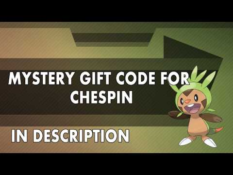 PTD 2: Chespin Mystery Gift Code
