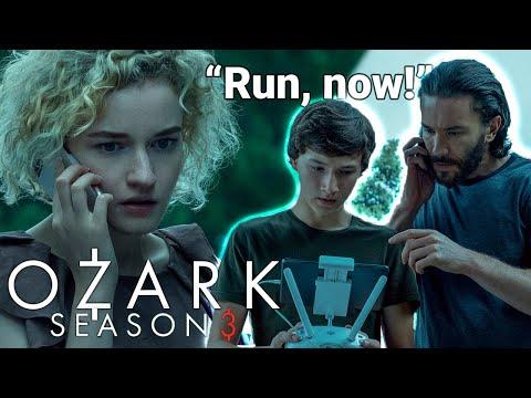 """OZARK Season 3 • Jonah & Ben Save Ruth During Money Drop Attack - 3x06: """"Su Casa Es Mi Casa"""""""