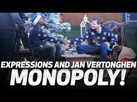 Video: SPURS MONOPOLY | Jan Vertonghen and Expressions go head-to-head!
