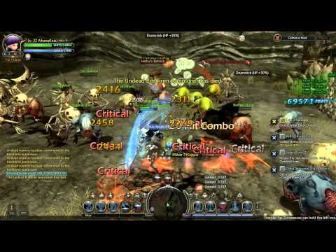 Dragon Nest SEA - Critical build SM Cerberus Nest Solo [HD] 1/2