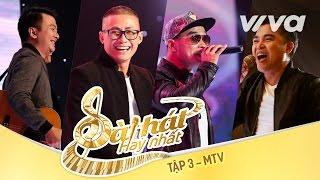 Cám Ơn Ngày Mới - MTV Band  Tập 3  Sing My Song - Bà...