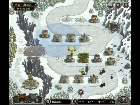 Kingdom Rush Walkthrough Level 9