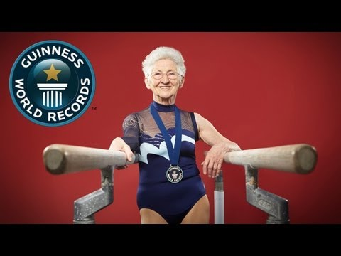 Самая старая гимнастка в мире