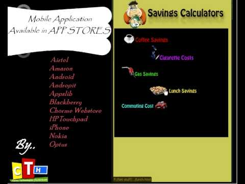 Video of Savings Calculators