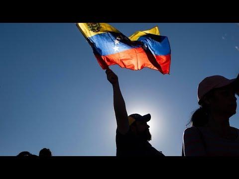 Venezuela: Massendemonstration gegen Präsident Maduro i ...